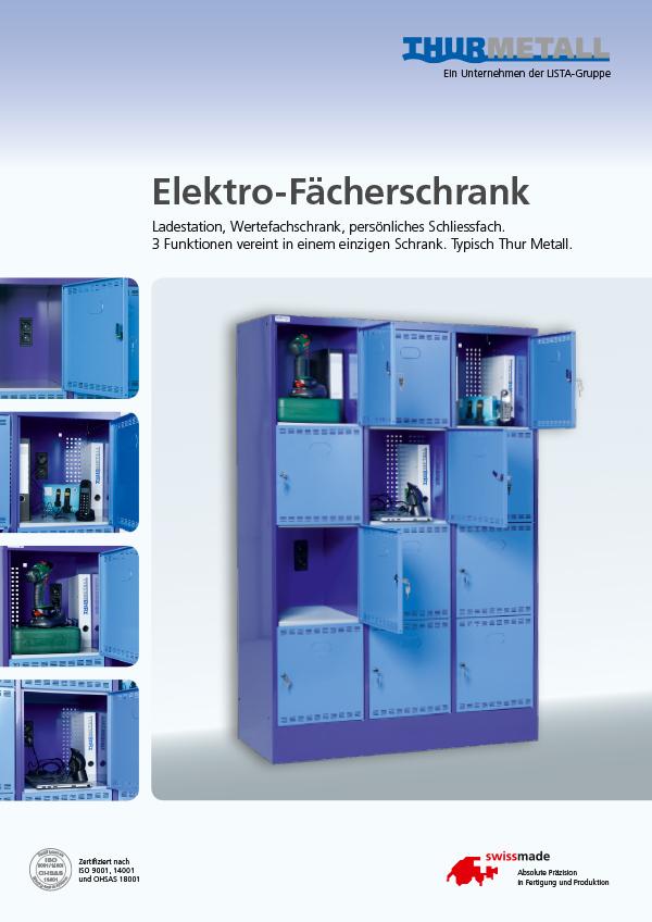 Elektrofaecherschrank
