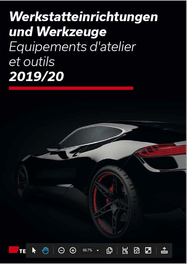 Equipements d'atelier et outils 2019 / 2020