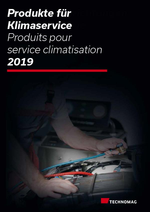 Produits pour service climatisation 2019