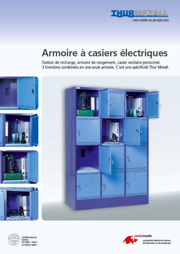 Armoire à casiers électriques