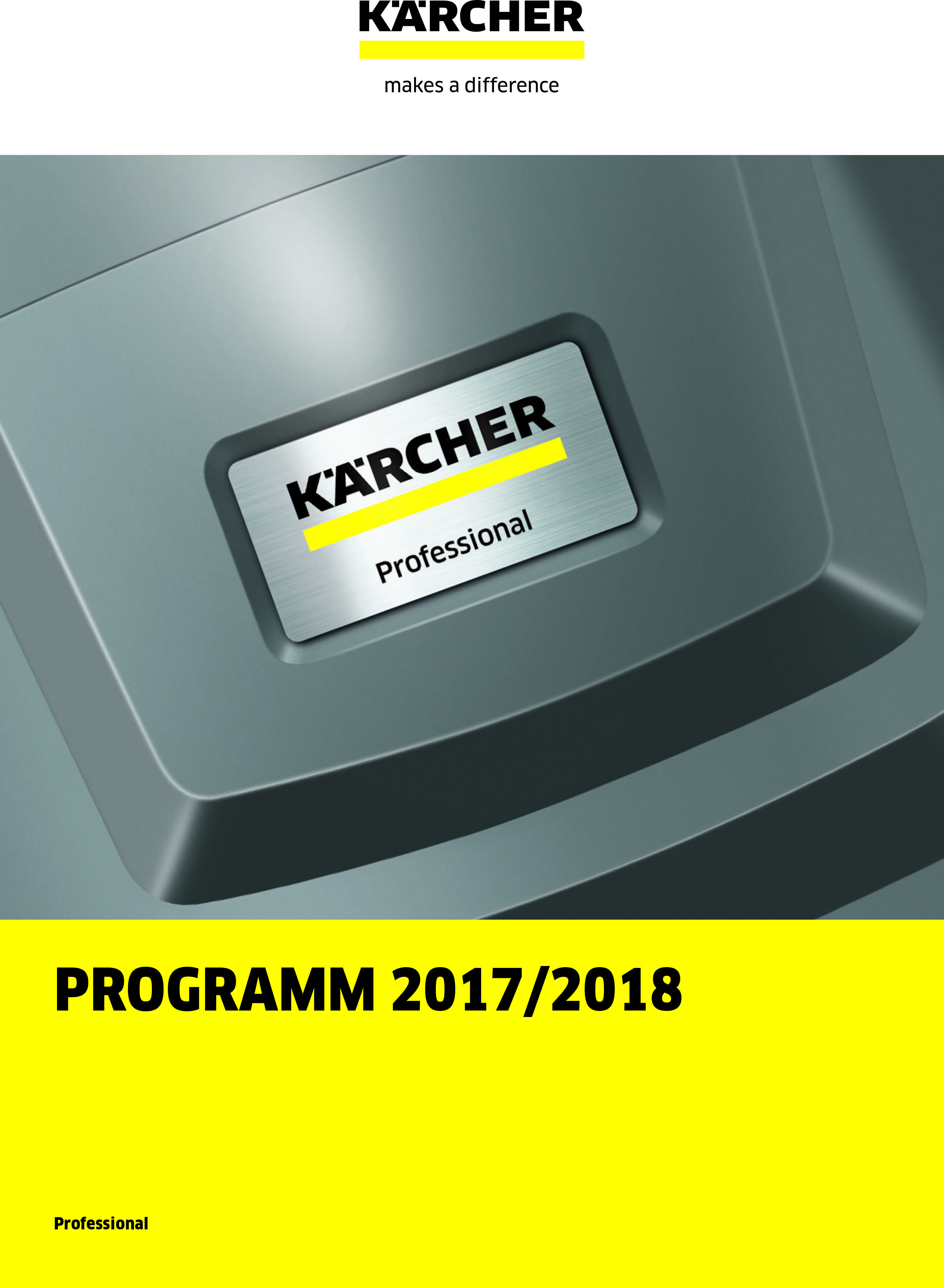 Kärcher Professional 2017/2018 1/3