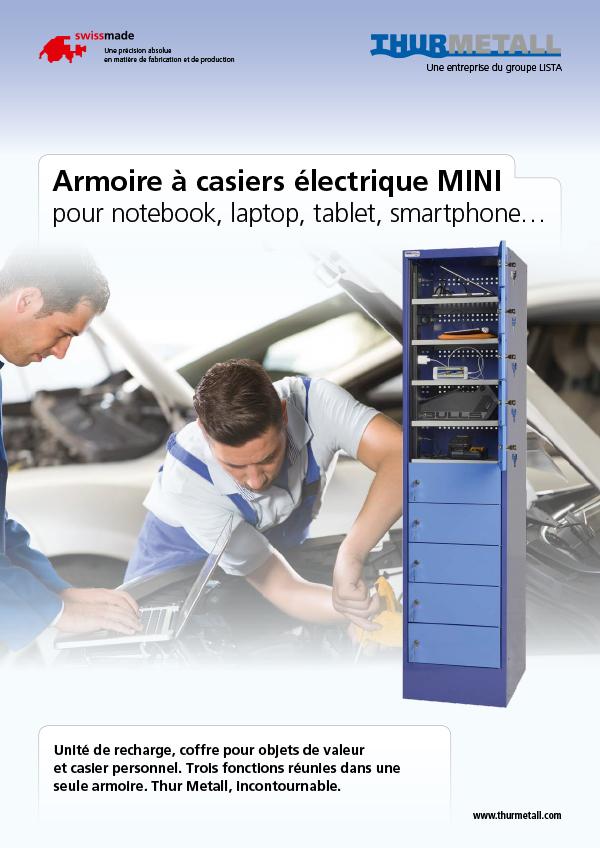 Armoire à casiers électrique MINI