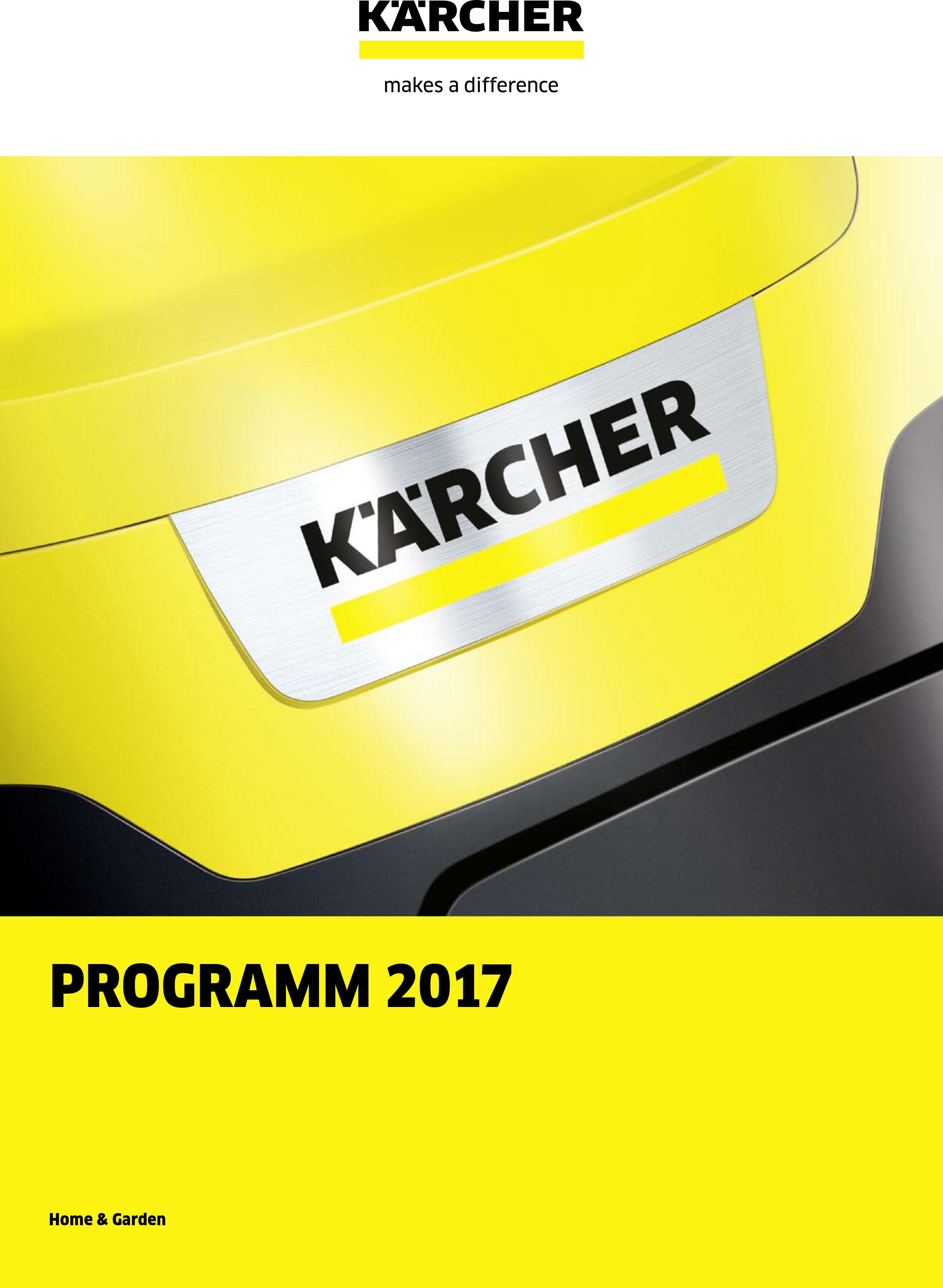 Kärcher Home & Garden 2017/2018
